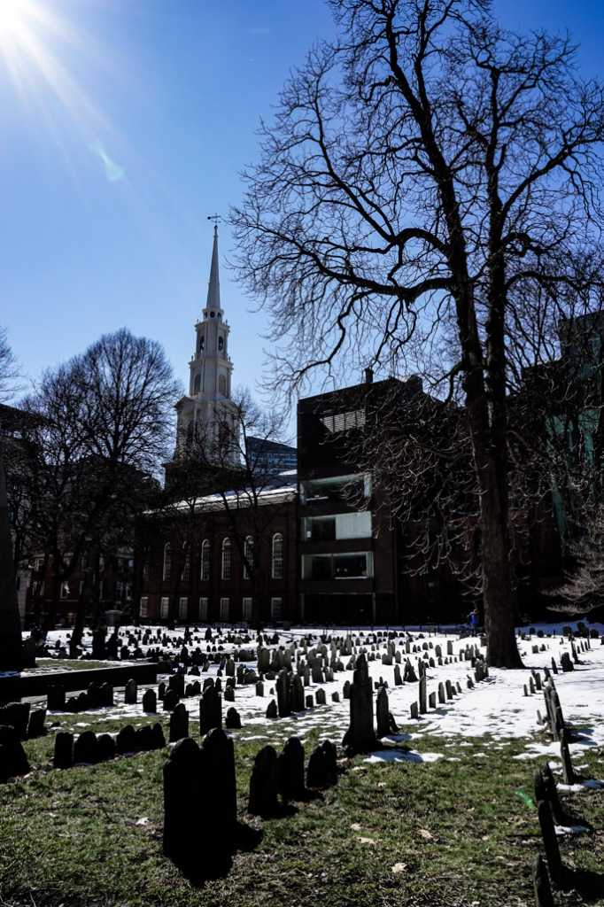 Granary Burial ground Boston.