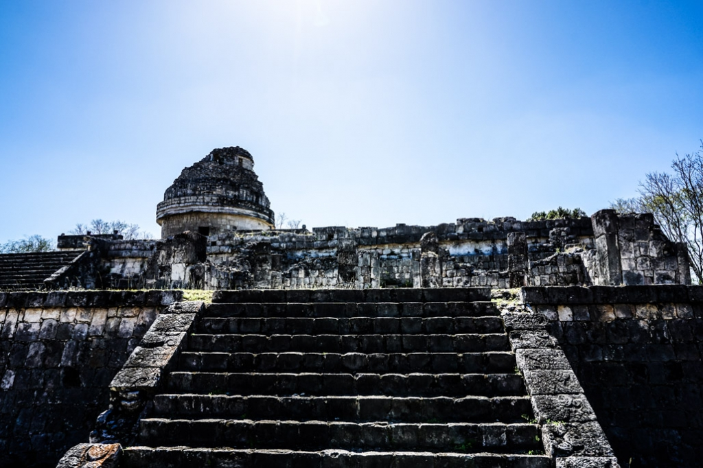 Haunted Observatory of Chichen Itza.