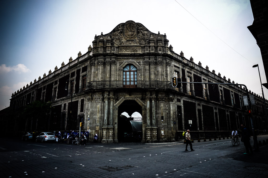 Mexico City Palace of Inquisition is haunted.