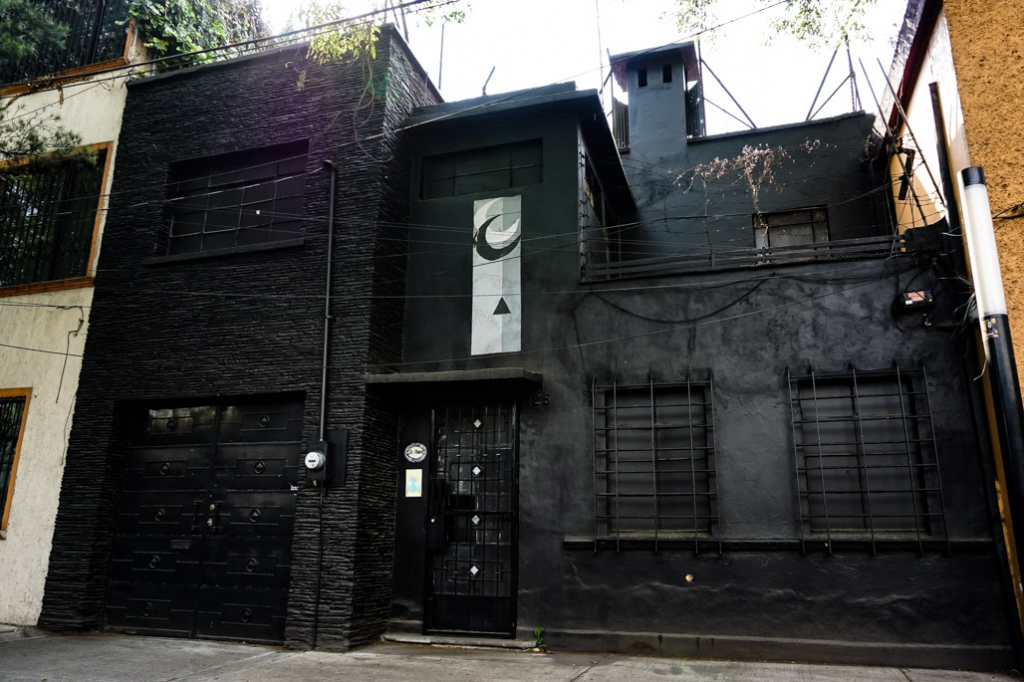 Haunted La Moira House in Mexico City.