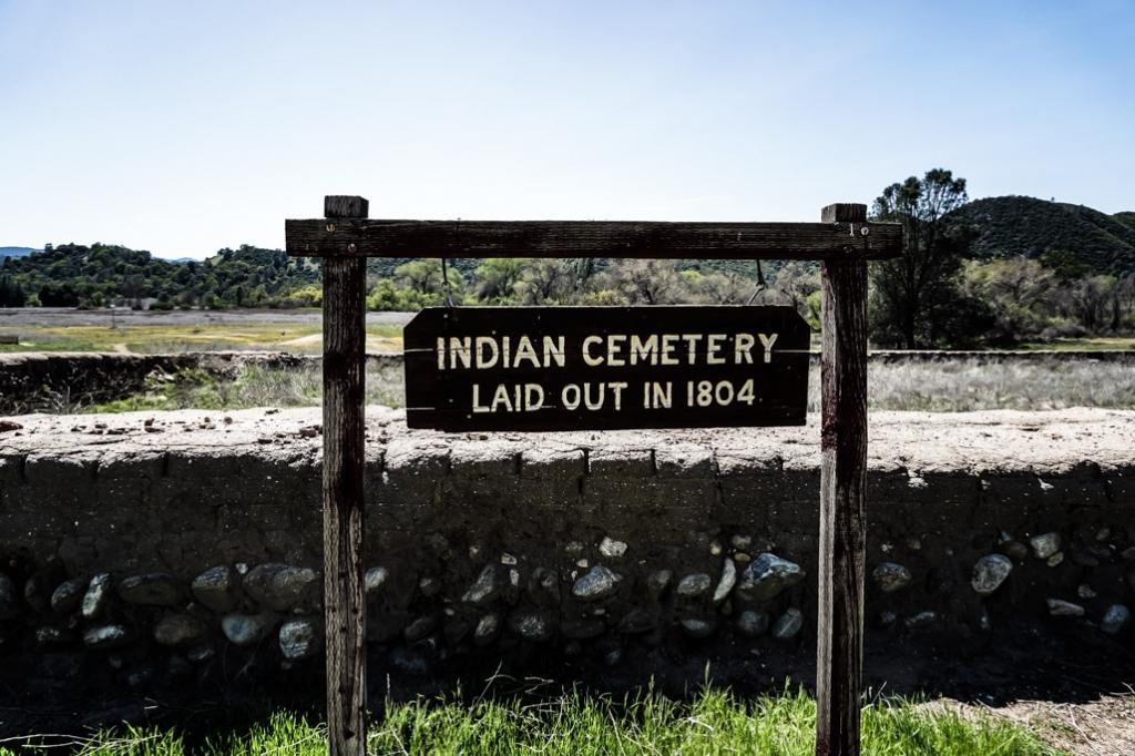 Mission San Antonio de Padua's Indian Cemetery.
