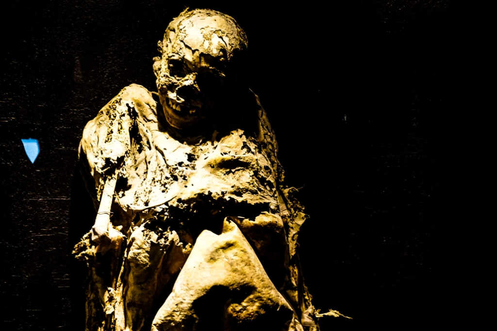 Mummies in Guanajuato.
