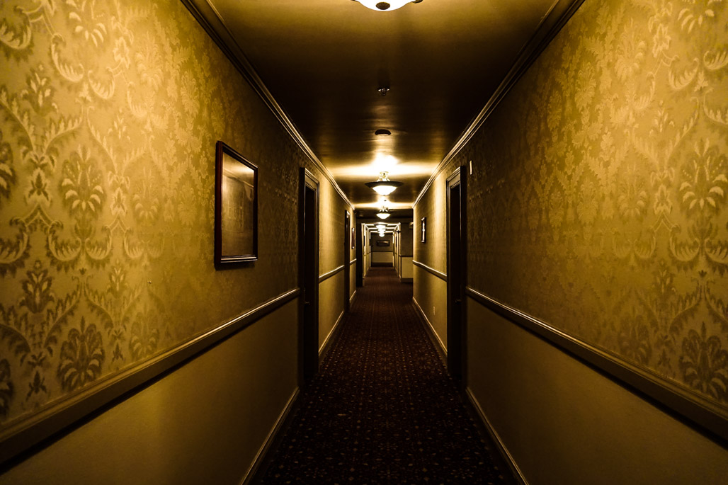 Haunted 4th floor of the Stanley Hotel.