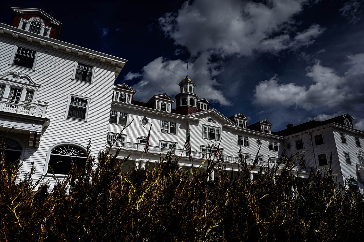 The Stanley Hotel haunted.