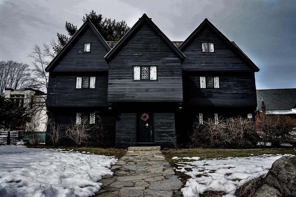 Witch House Of Salem, MA.