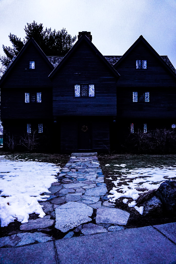 Haunted Witch House in Salem.