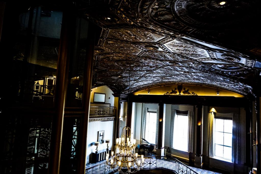 Ceilings of the Biltmore Hotel.