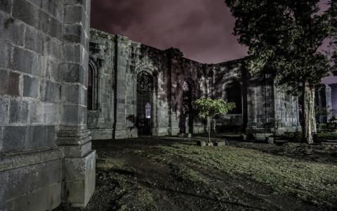 Cursed Church Ruins of Cartago: Ruinas De La Parroquia