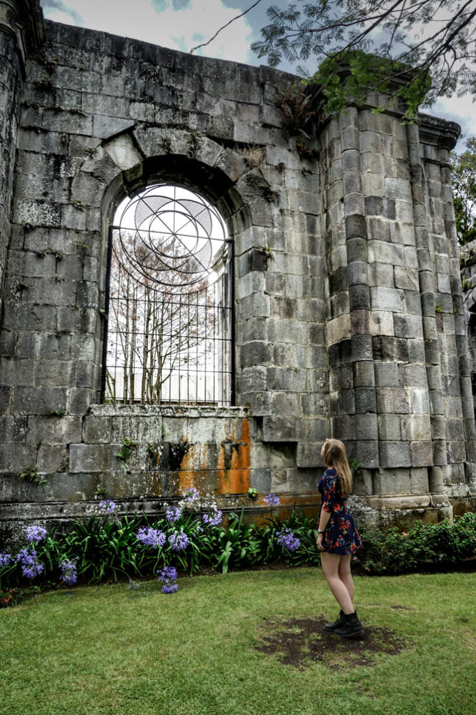 Haunted Cartago Church Ruins in Costa Rica.