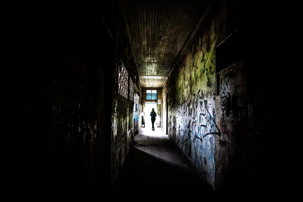 Abandoned asylum, Duran Sanatorio.