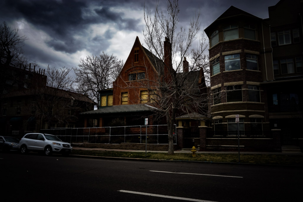 Peabody-Whitehead Mansion, Denver haunted house.