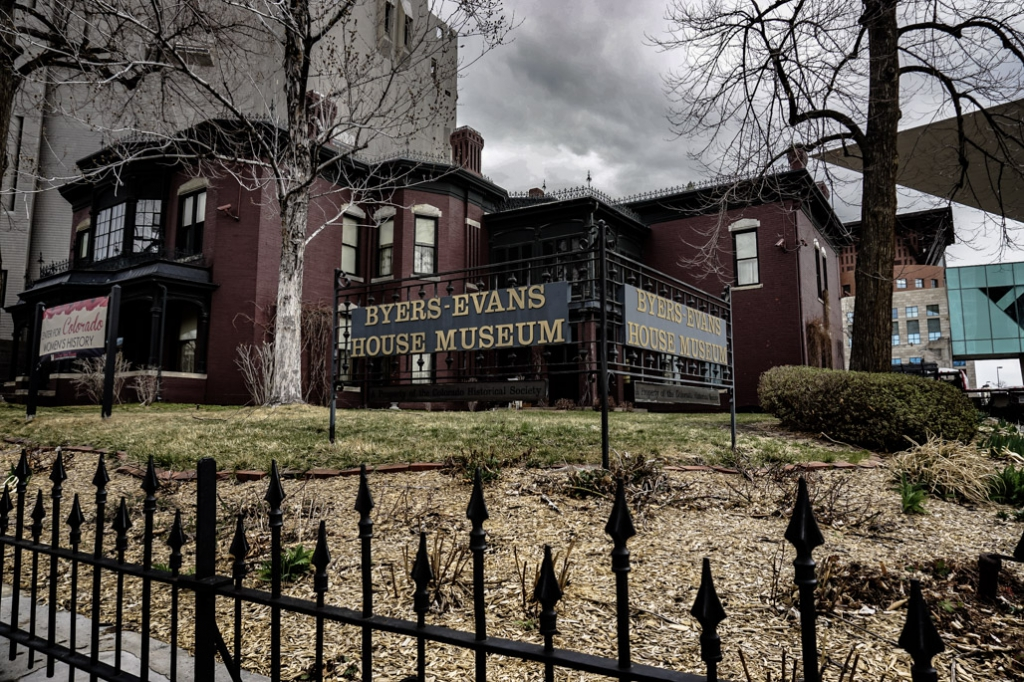 Byers-Evans House Museum is haunted.