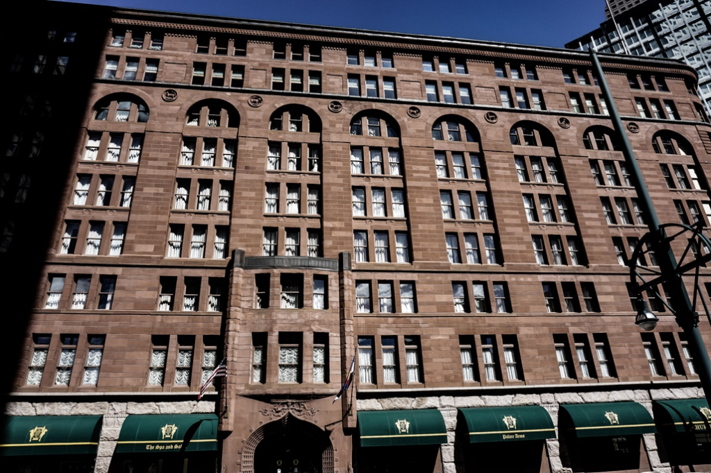Haunted Brown Palace Hotel in Denver, Colorado.