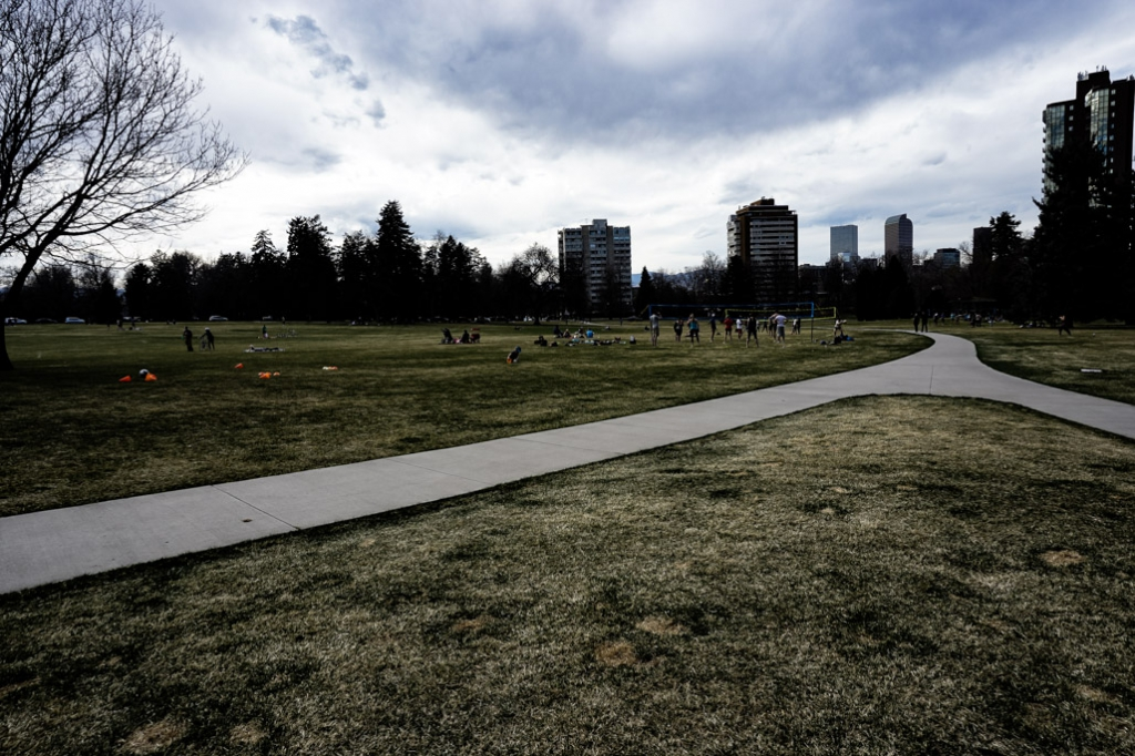 Haunted Cheesman Park.