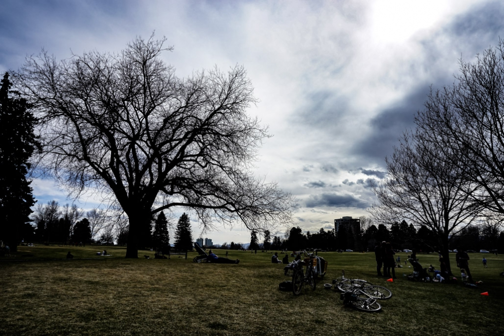 Most haunted place in Denver, Cheesman Park.
