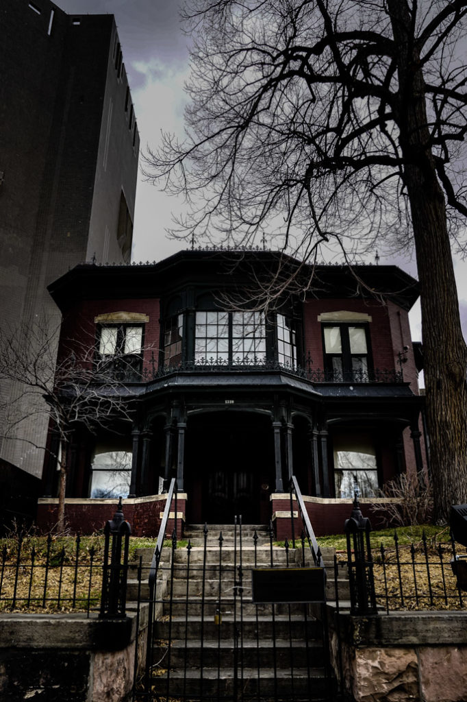 Haunted Byers-Evans House Museum.