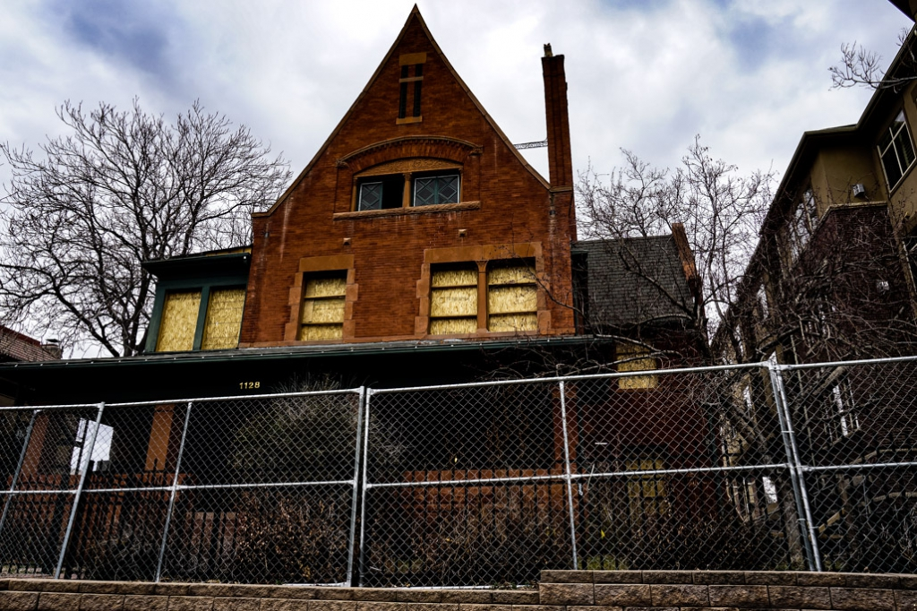 Haunted homes of Denver, Peabody-Whitehead Mansion.