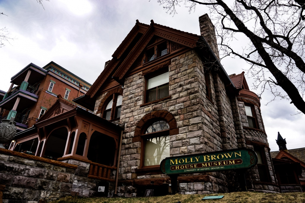 Molly Brown House Museum in Denver is haunted.