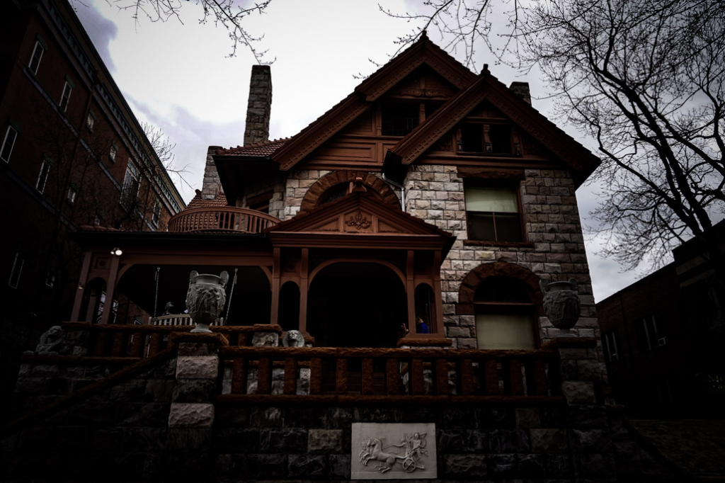 Molly Brown House in Denver is haunted.