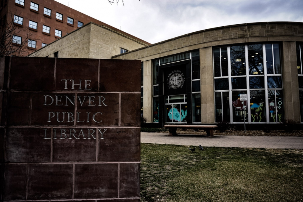 The Denver Public Library is haunted.