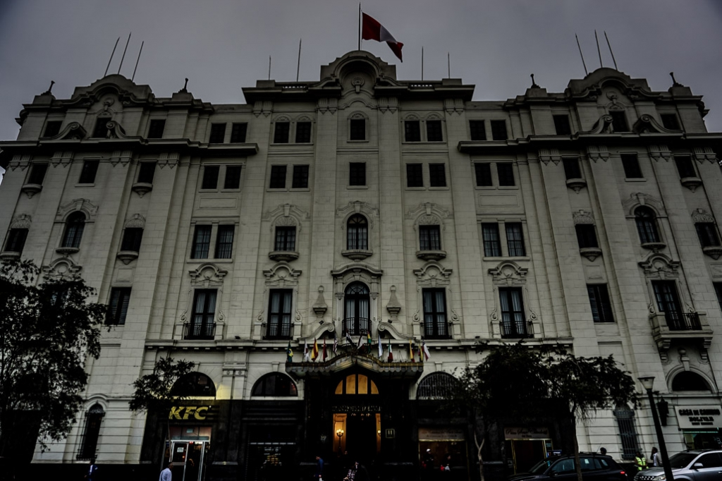 Most haunted hotel in Peru - Gran Hotel Bolivar Lima.