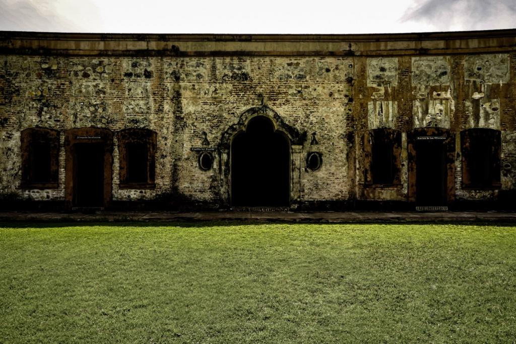 Omoa Fort haunted.