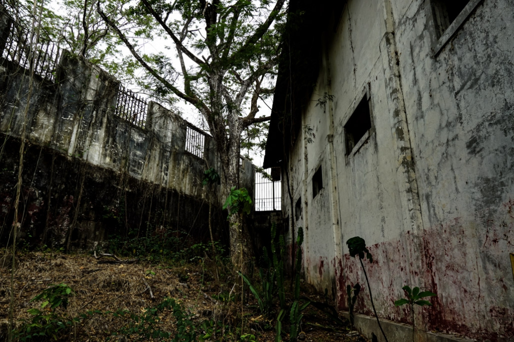 Abandoned prison island in Costa Rica is haunted.