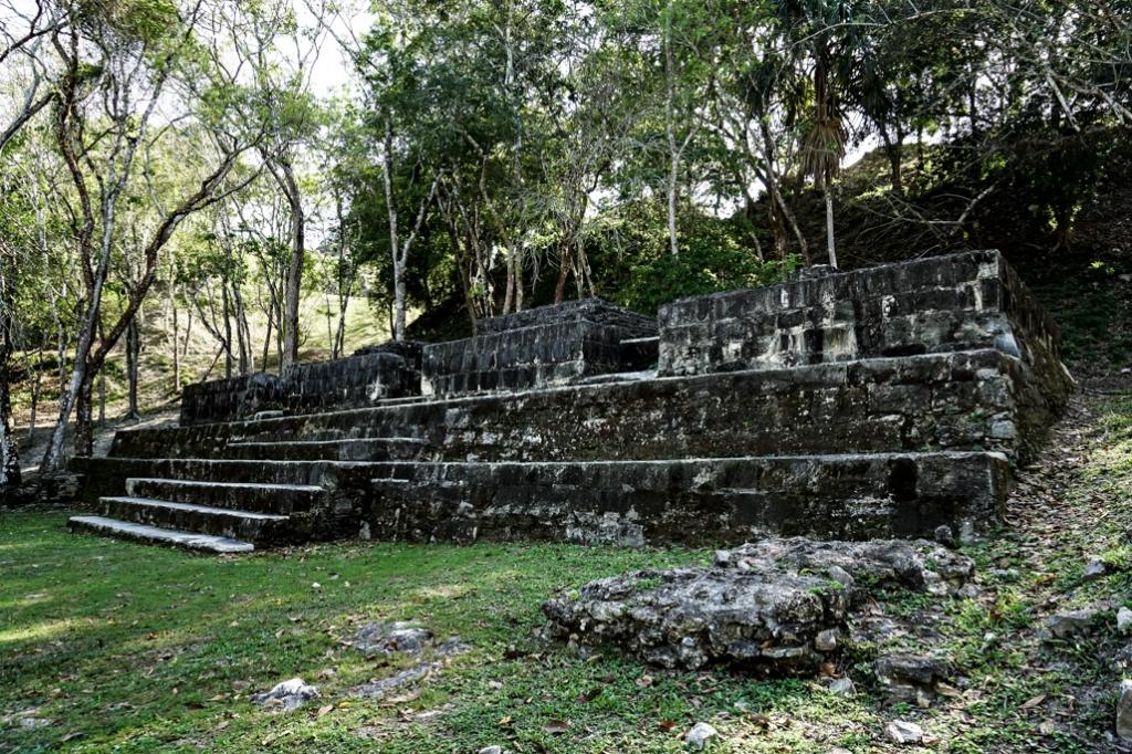 Belize Mayan ruins Xunantunich.