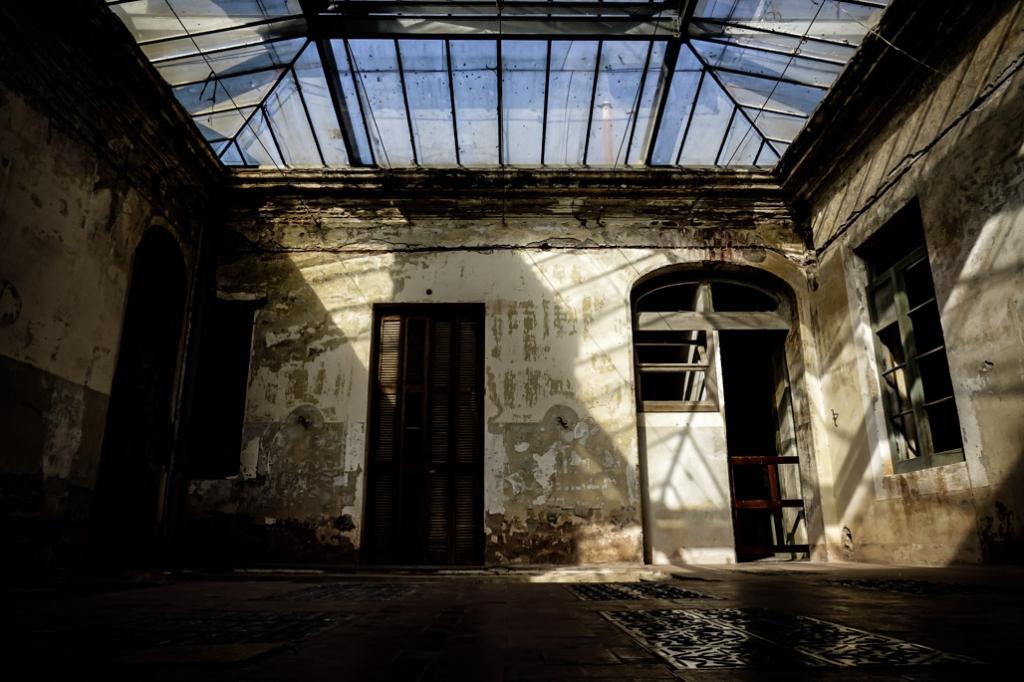 La Falda, Argentina, most haunted hotel.