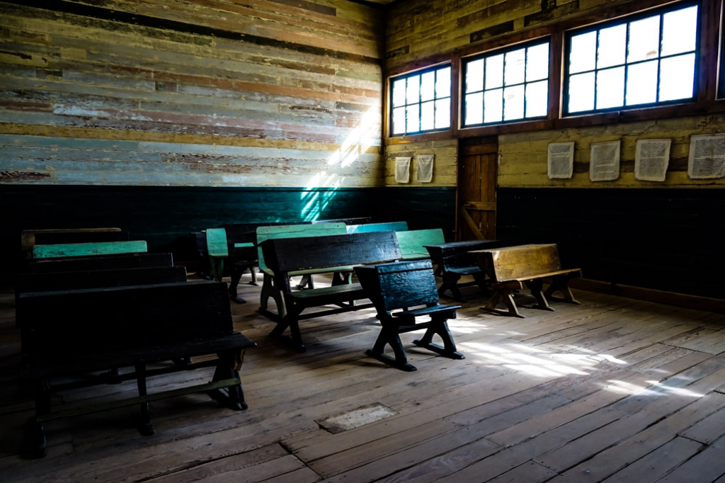 Humberstone haunted school.