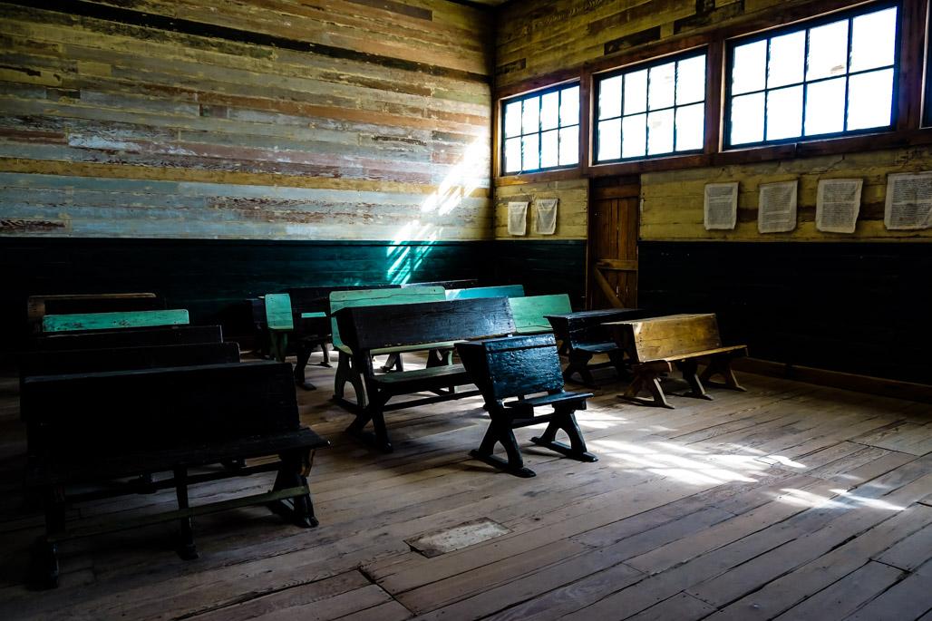 Humberstone haunted school house.