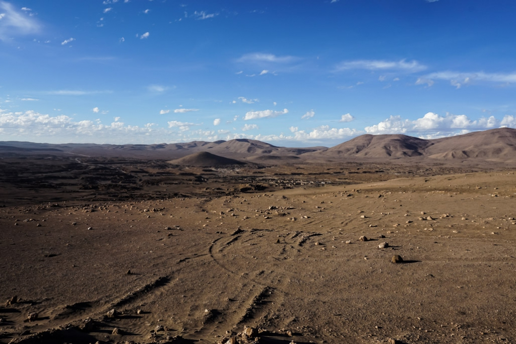 Atacama Desert and the La Noria ghost town.