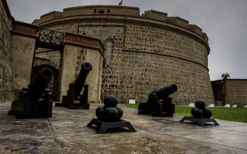 Ghosts of The Haunted Real Felipe Fortress, Peru