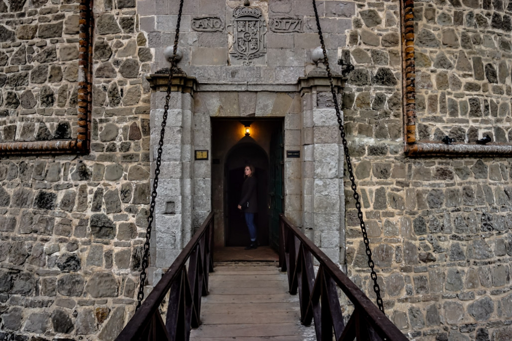 Haunted King's Tower of Real Felipe Fortress, Peru.