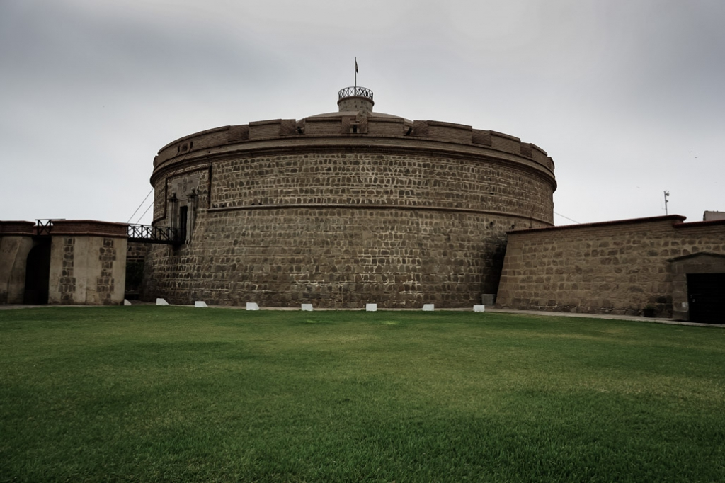 Haunted Real Felipe Fortress in Peru.