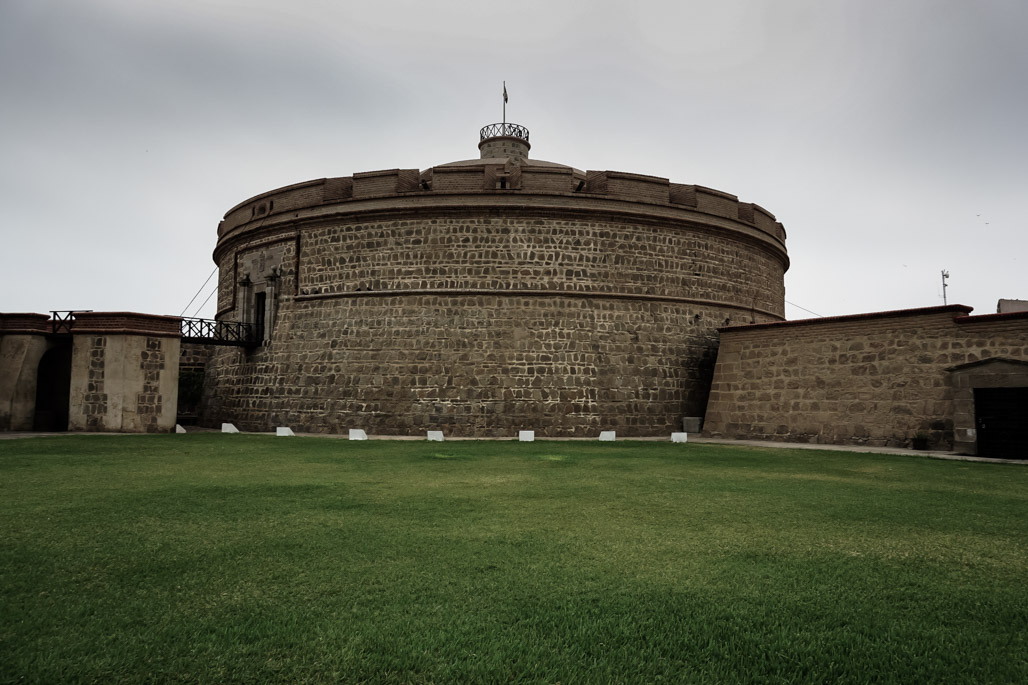 Haunted Real Felipe Fortress.