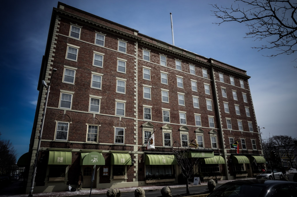 Haunted Hawthorne Hotel in Salem, MA.