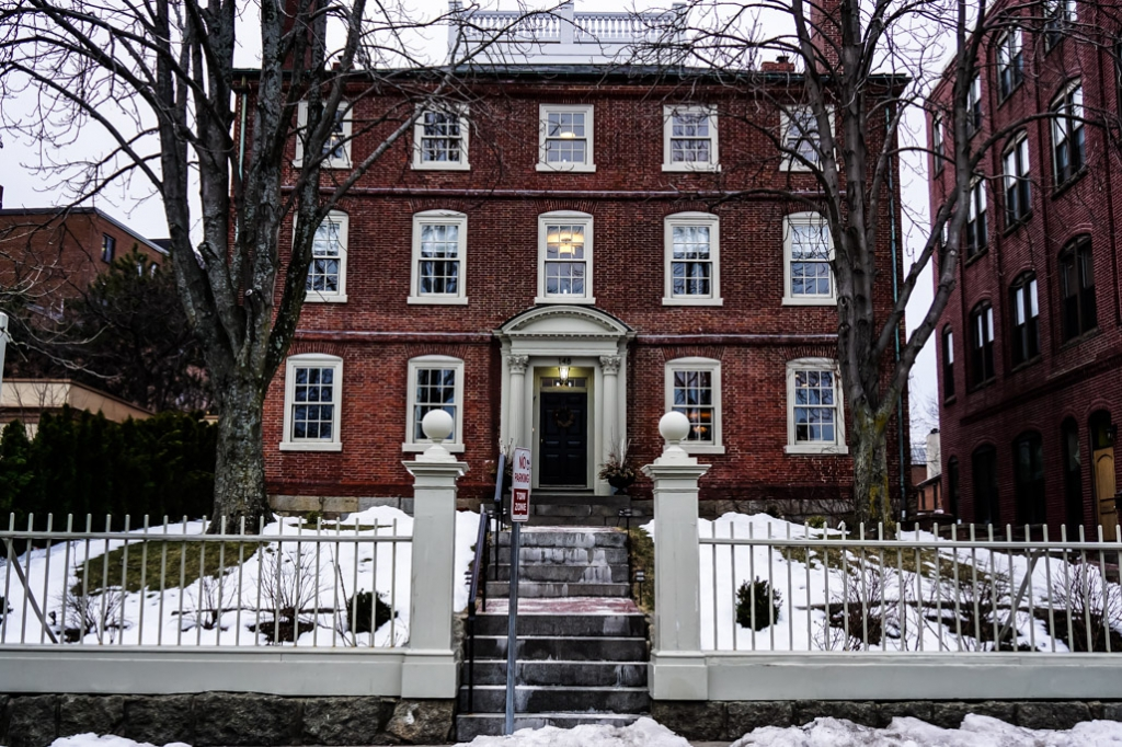 Haunted Joshua Ward House in Salem, Massachusetts.
