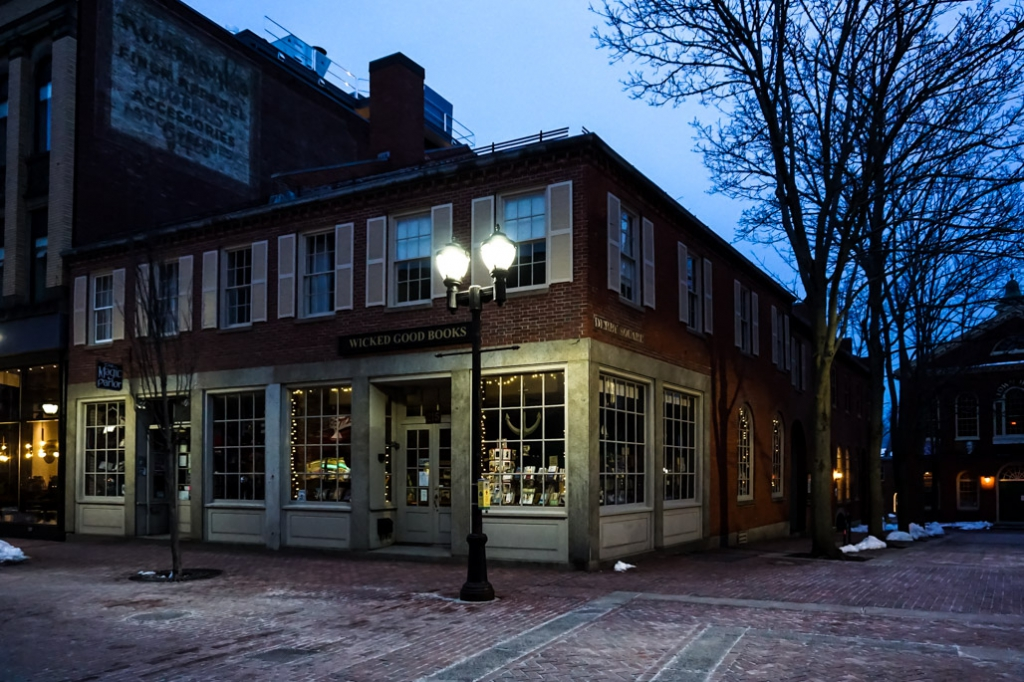 Wicked Good Books, one of the most haunted places in Salem, Massachusetts.