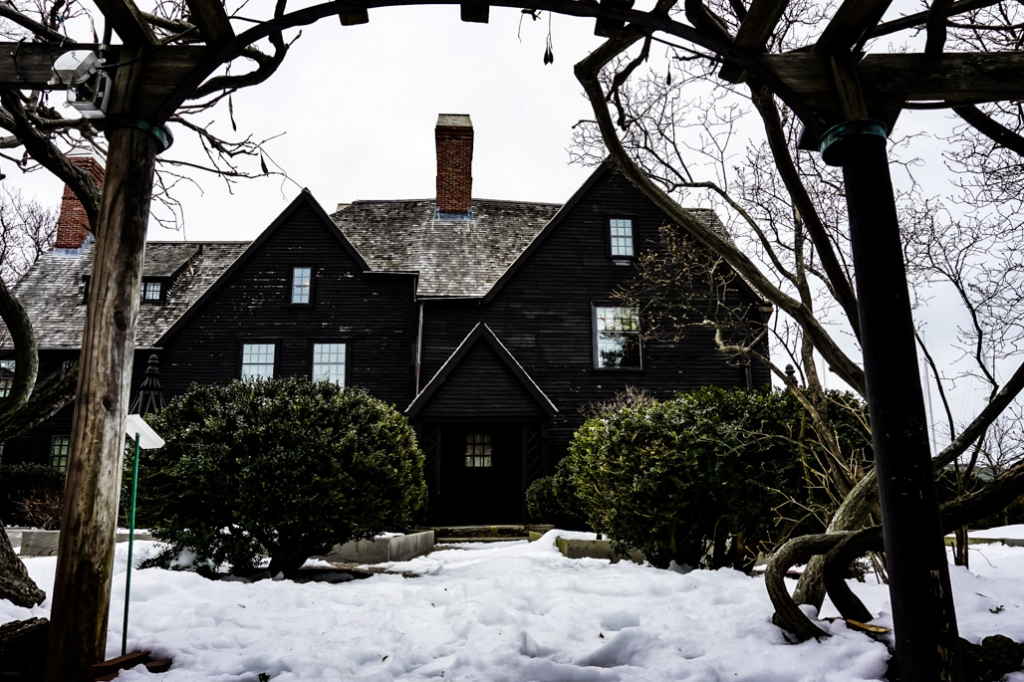 Haunted House of the Seven Gables.