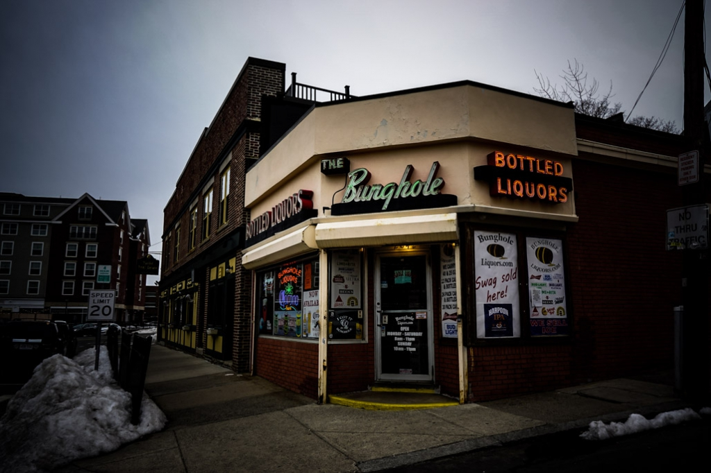 Bunghole liquors, haunted place in Salem, MA.