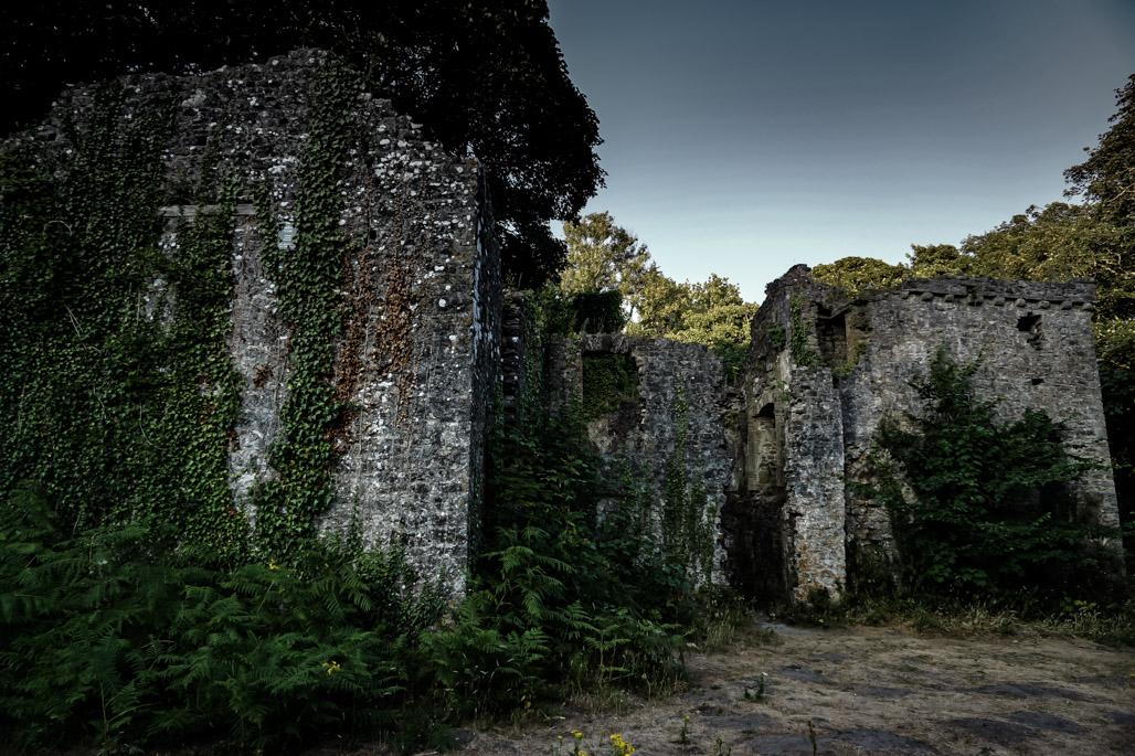 Haunted Candleston Castle.