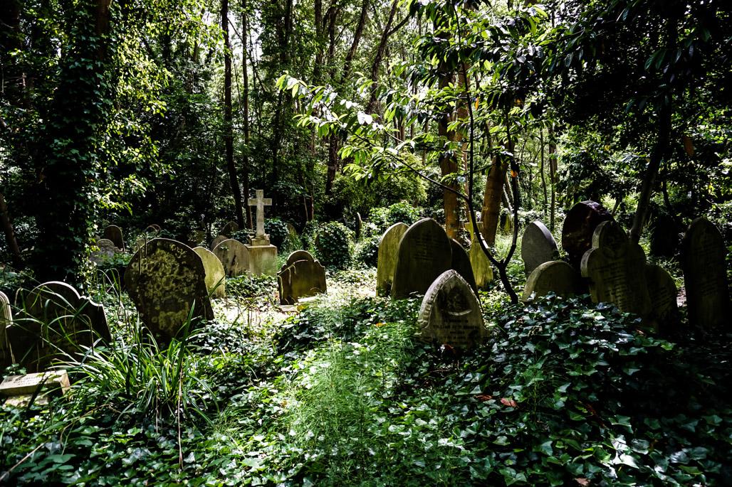 Haunted Highgate Cemetery.