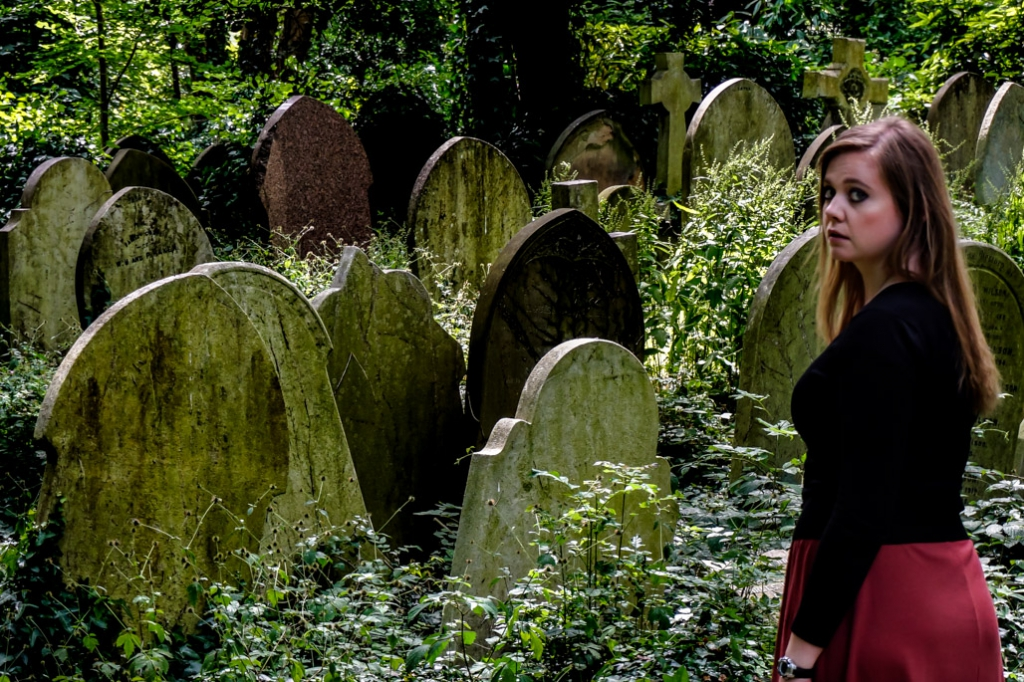 Highgate Cemetery horror.
