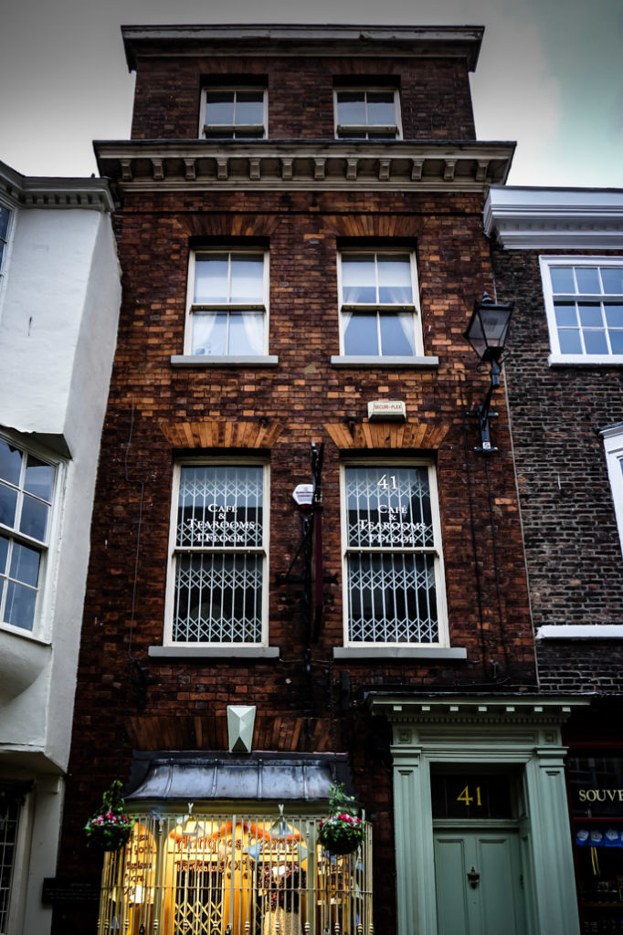 Haunted house in York, 41 Stonegate.