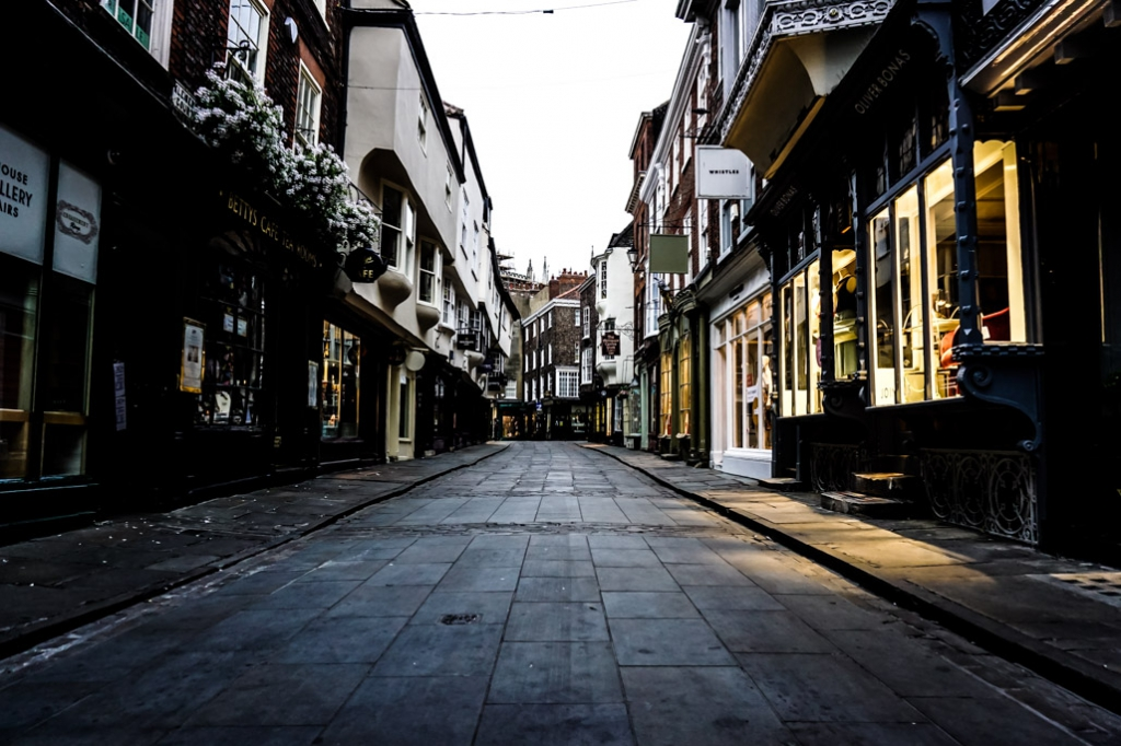 Most haunted places in York, England.