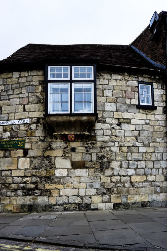 Haunted window of York's Plague House.