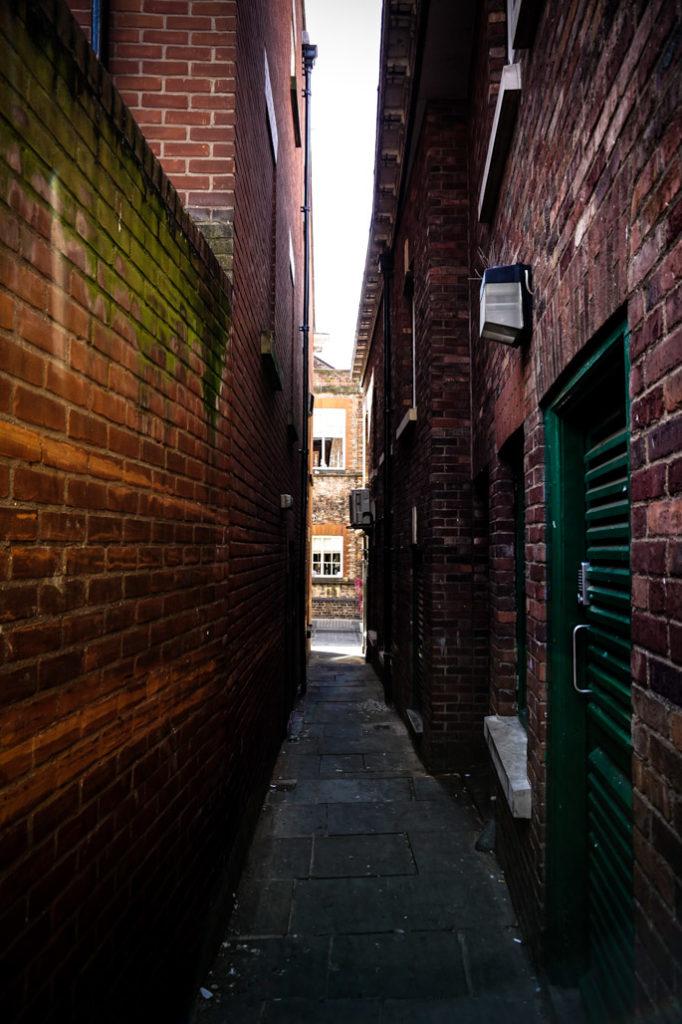 York's haunted Mad Alice Lane.
