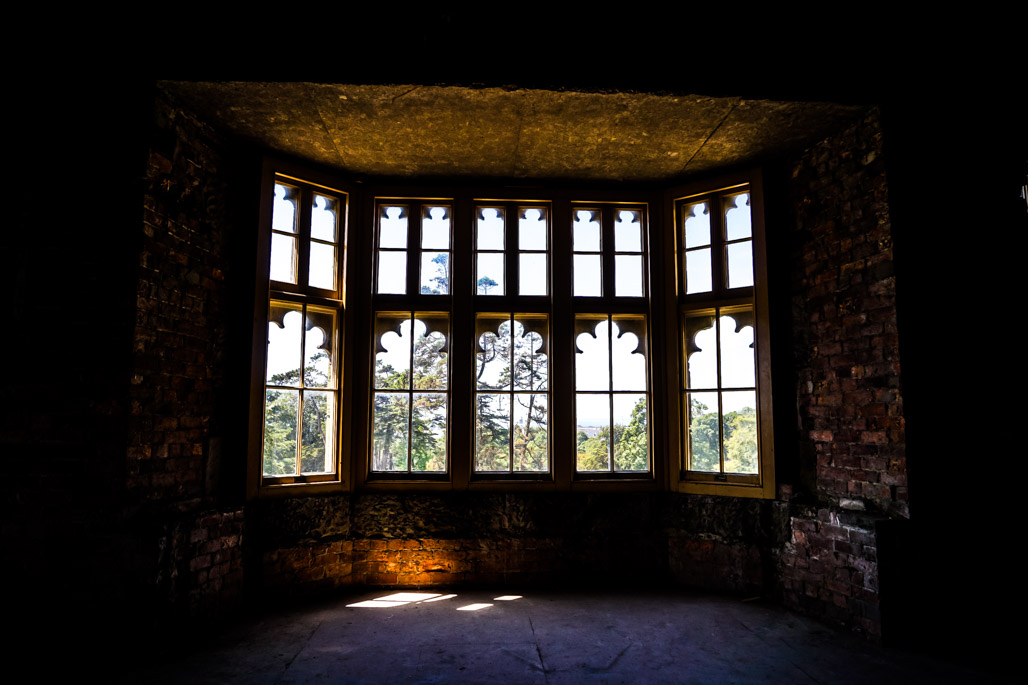 Haunted Margam Castle in Wales.