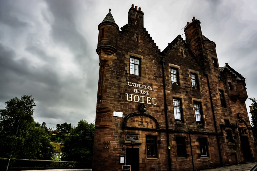 Glasgow Scotland, Cathedral House Hotel.